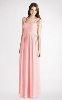 Long-Chiffon Sleeveless A-Line Charming Dress