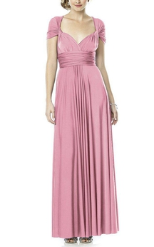 Convertible Long Bridesmaid Dress
