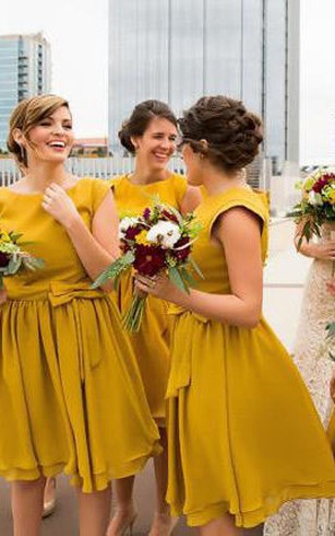 Plus Size Modest Bridesmaid Dresses Dorris Wedding
