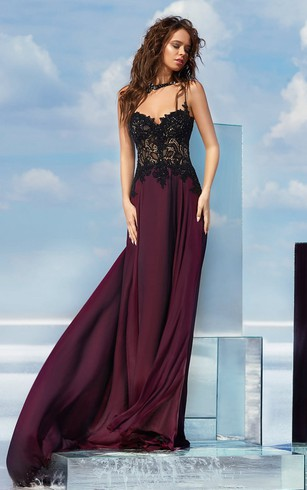 High Neckline Formal Dresses Prom Dress With Halter Neck Dorris