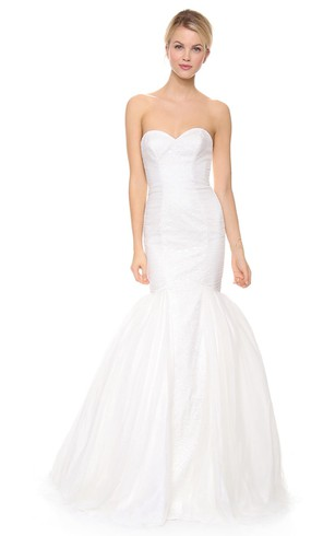 Trumpet Wedding Dress with Sweetheart, Sweetheart Neckline Mermaid ...