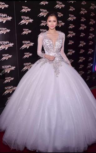 Poofy Style Prom Dress Poofy Formal Dresses Dorris Wedding