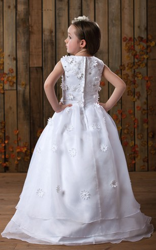 Little Junior Brides Gowns Flower Girl Dresses
