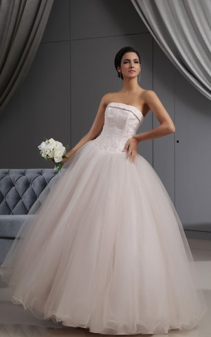 Peach Wedding Dress | Colored Wedding Dresses - Dorris Wedding