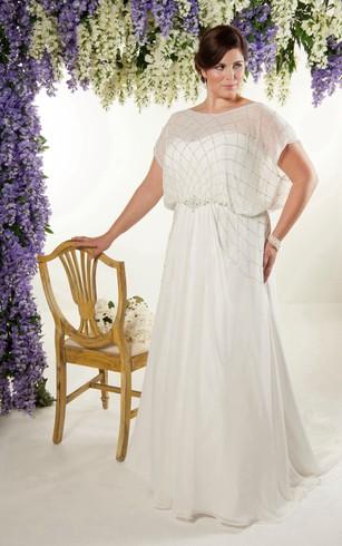 Plus Size Short Wedding Dresses for Brides in All Sizes - Dorris Wedding