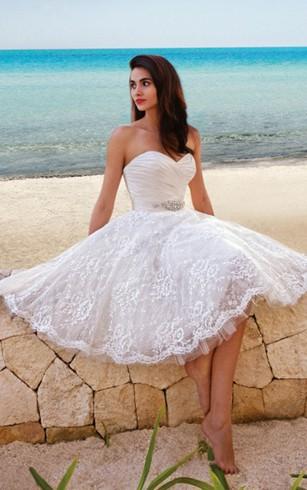 Cheap Simple Bridal Dresses | Elegant Plain Wedding Dress - Dorris ...