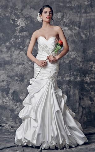 Cheap Silk Chiffon Wedding Gown | Cheap Simple Bridal Dresses ...