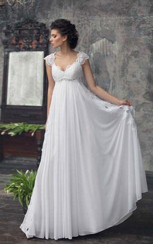 Plain Style Wedding Gowns, Simple Bridal Dresses - Dorris Wedding