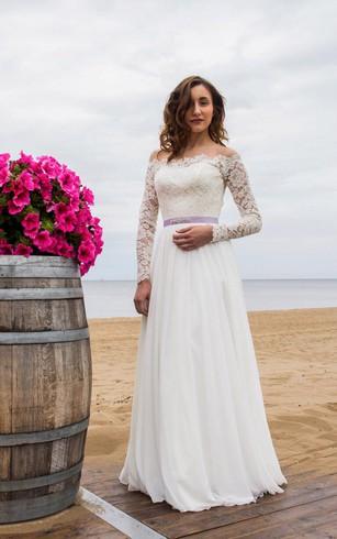 Vow Wedding Dresses, Renewal Ceremony Bridals Dress - Dorris Wedding