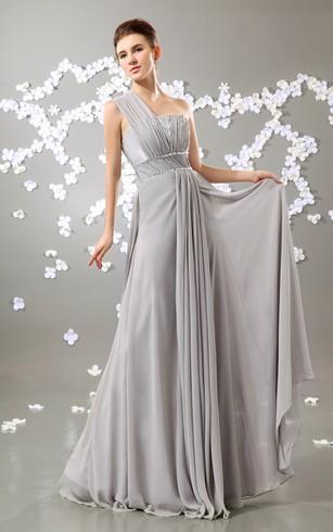Empired Waist Long Evening Dress, Empire Long Prom Dresses - Dorris ...