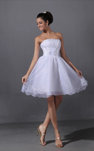Cheap Aline Flowy Wedding Gown   Cheap Casual Bridal Dresses ...