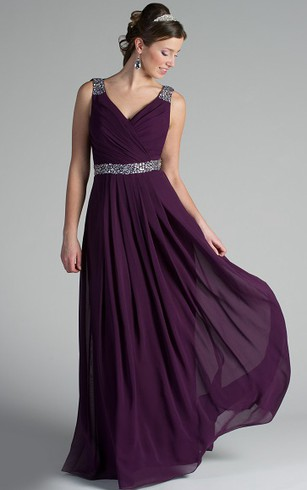 Elegant Bridesmaid Dress