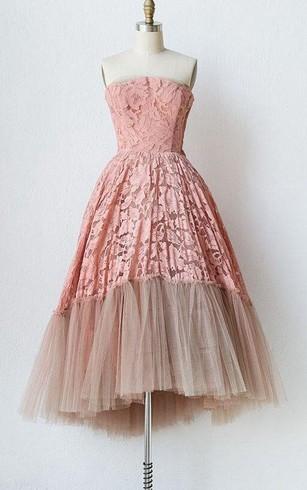 1950s Prom Dress | Vintage Prom Dress - Dorris Wedding