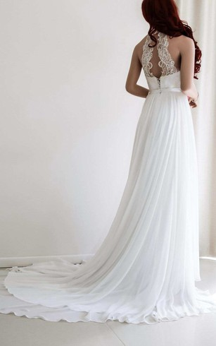 Halter Style Wedding Gowns, Top Halter Bridal Dresses - Dorris Wedding