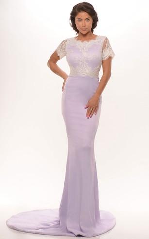 Mermaid Prom Gowns | Fishtail Evening Dresses - Dorris Wedding