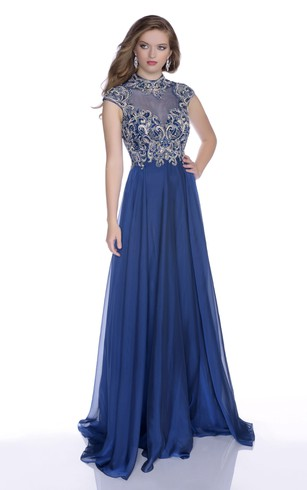 Affodable Modest Style Prom Dress Modest Formal Dresses Cheap