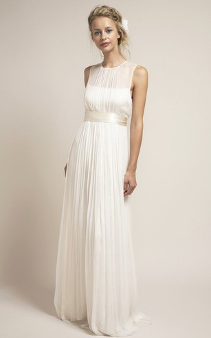 Simple Bridal Dresses | Wedding Dress Without Beading - Dorris Wedding