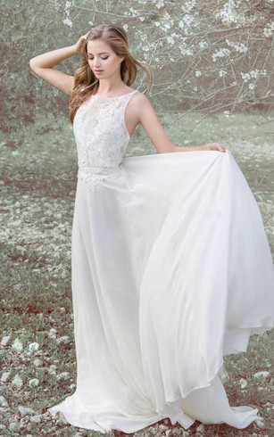 Flowy Style Bridal Gowns, Flowy Dresses for Wedding - Dorris Wedding