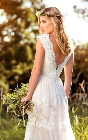 Rustic Wedding Gowns Country Western Bridal Dresses Dorris Wedding