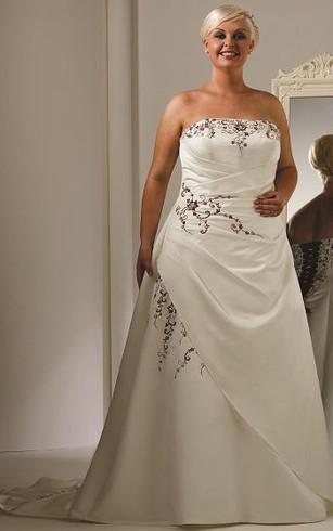 Beige Wedding Dress | Ivory Wedding Dresses - Dorris Wedding
