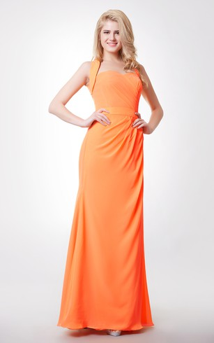 Cheap Orange Bridesmaid Dresses | 32 Colors - Dorris Wedding