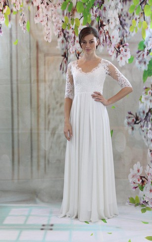 Casual Second Wedding Dresses | Wedding Dresses For Older Brides ...