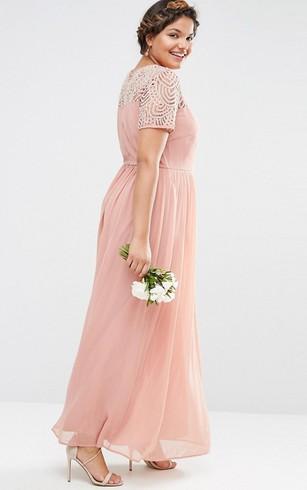 Full Figure Size Bridesmaids Dresses   Bridesmaid Gowns For Plus ...