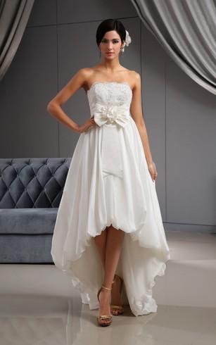 Hi Low Wedding Dress High Lo Bidals Dresses Dorris Wedding