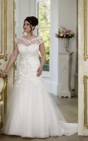 Full Figured Wedding Dresses | Plus Size Wedding Dresses - Dorris ...