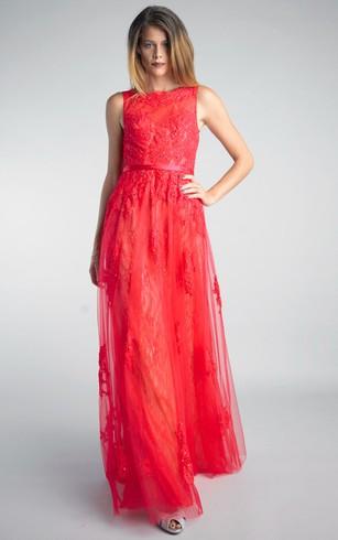 Nice Red Formal Dress