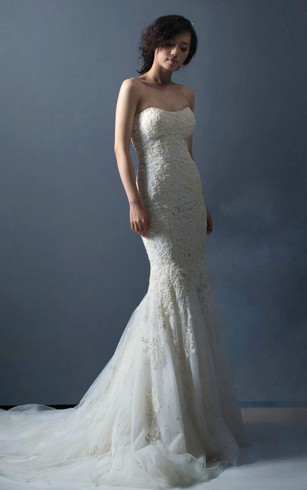 Cheap Simple Bridal Dresses | Elegant Plain Wedding Dress - Dorris ...