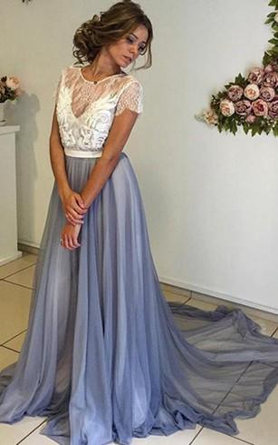 Bohemian Style formal Dress, Boho Prom Dresses - Dorris Wedding