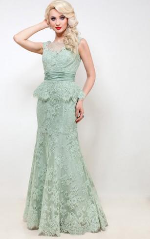 Mint Prom Dress | Pale Green Dresses - Dorris Wedding