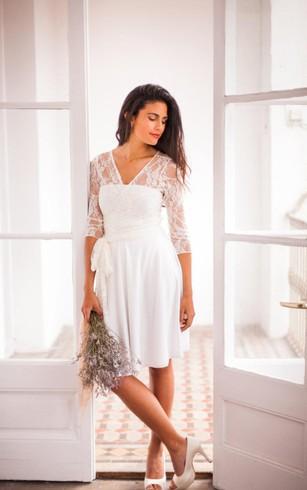 Simple Vintage Wedding Dresses | Retro Wedding Dresses - Dorris Wedding