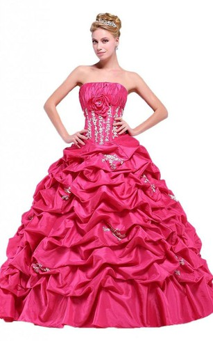 Hot & Dark Pink Prom Gowns | Pink Formal Dresses - Dorris Wedding