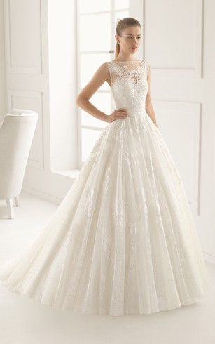 Wedding dress sweetheart neckline lace up back tall