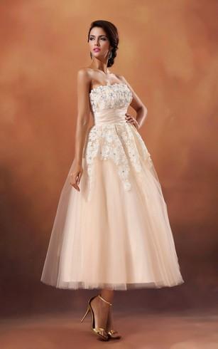 Tea Length Dresses for Wedding