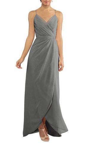 Charcoal Grey Bridesmaid Dresses | Shop by Color - Dorris Wedding