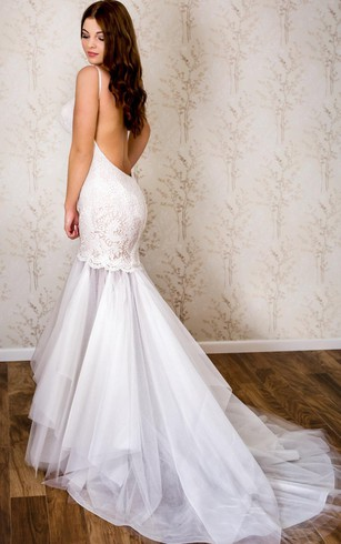 Backless Bridal Dresses | Open And Low Back Wedding Gowns - Dorris ...