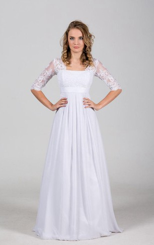 Wedding Dress for Elder Brides 2Nd Married, Older Second Times ...