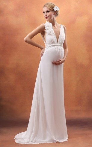 Wedding Dress For Pregnant Maternity Wedding Dresses Dorris Wedding