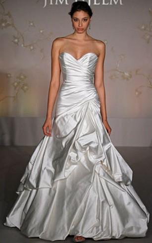 Basque Waist Style Bridal Dress | Wedding Gowns With Drap&Deep Waist ...