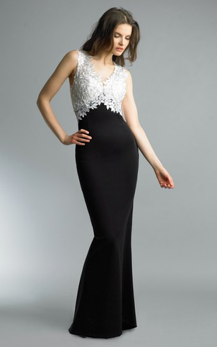 Cheap Long Black Prom Dress