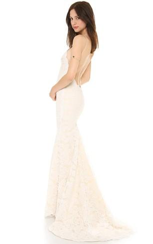 Cotton Wedding Dress - Dorris Wedding