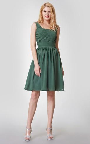 Green Bridesmaid Dresses Cheap