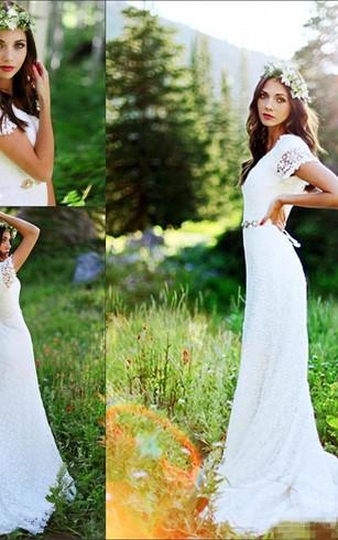 Rustic Wedding Gowns: Country & Western Bridal Dresses - Dorris Wedding