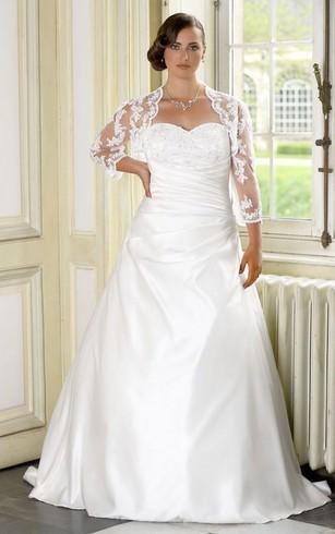 Unique Plus Size Wedding Dresses | Large Wedding Dress - Dorris Wedding