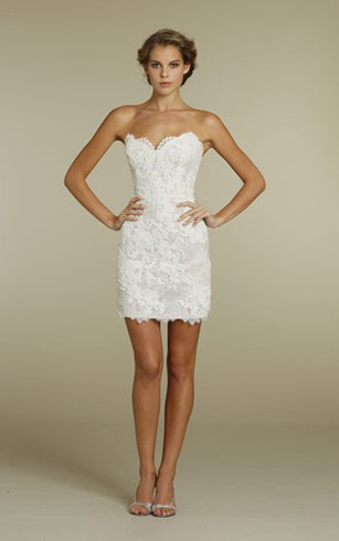 Sassy Lace Mini Dress With Detachable Tulle Overskirt