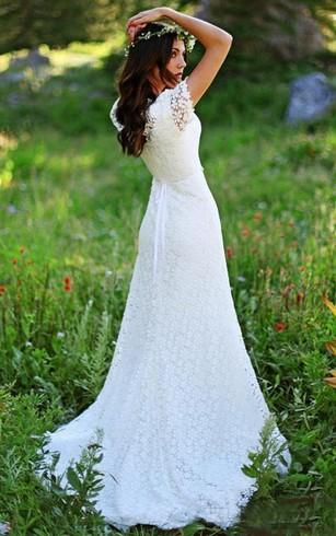 93768fbb6a818 Rustic Wedding Gowns: Country & Western Bridal Dresses - Dorris Wedding