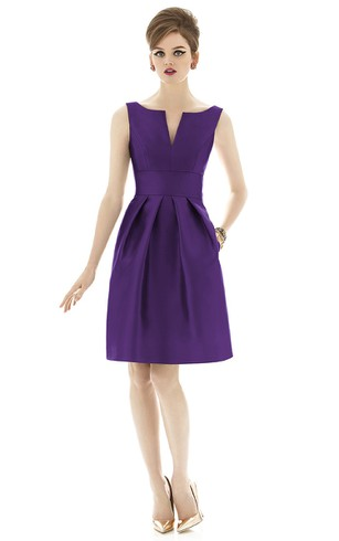 Grape Bridesmaid Dresses | Purple Bridesmaid Dresses - Dorris Wedding